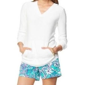 LILLY PULITZER Seaside Sweater in Resort White